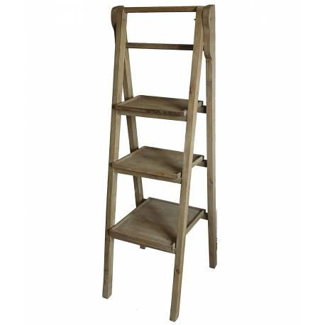 echelle porte plantes escalier escabeau pr sentoir. Black Bedroom Furniture Sets. Home Design Ideas
