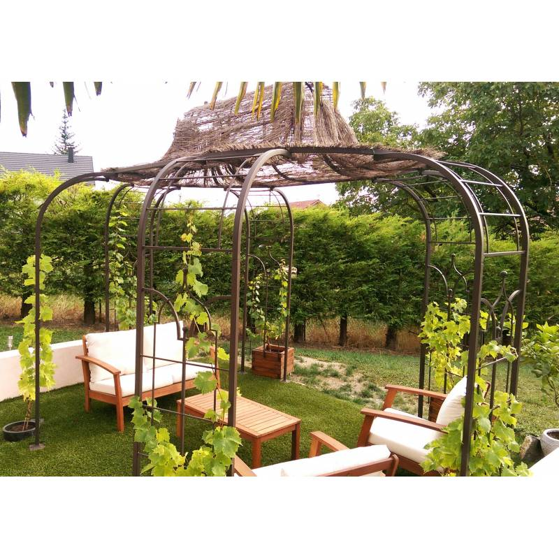 gloriette princess x large tonnelle pergola de jardin. Black Bedroom Furniture Sets. Home Design Ideas
