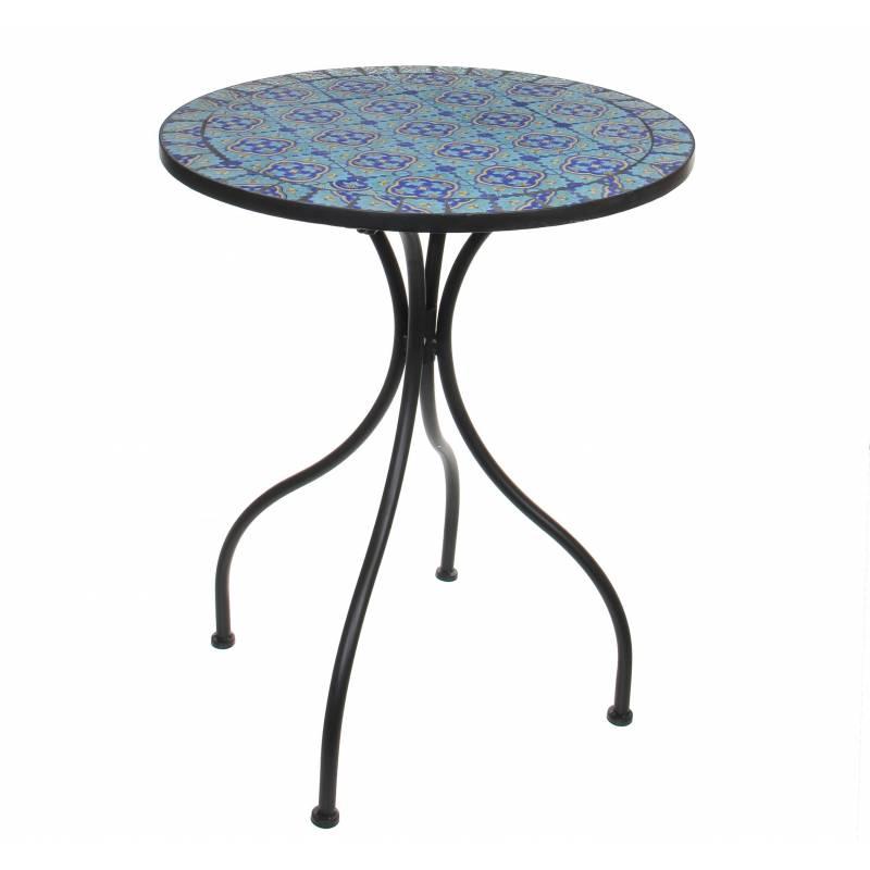Salon de Jardin avec Sublime Mosaïque Antique Table de ...
