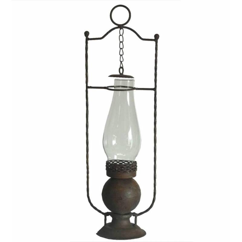 Lampe Tempete Antique A Poser Ou Lanterne Bougeoir Style Lampe A