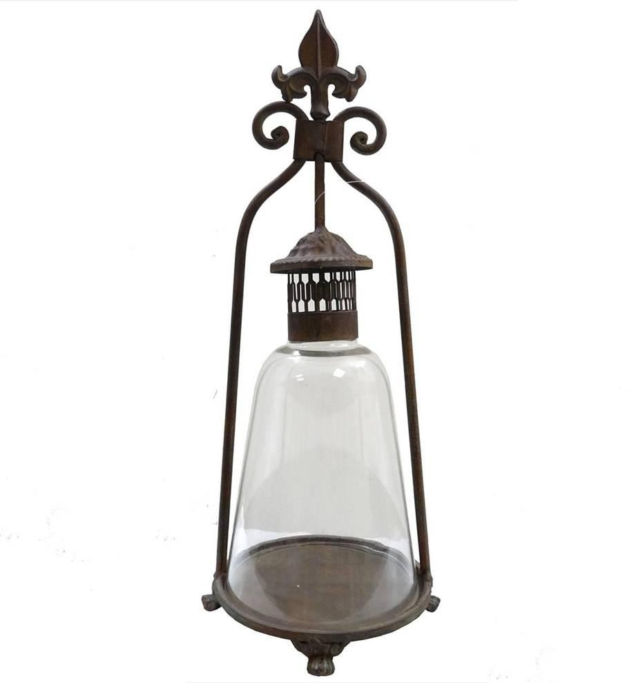 Lanterne Bougeoir A Poser Ou Lampe Tempete Lampe A Huile Interieur