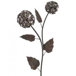 Fleurs et tuteurs décoratifs